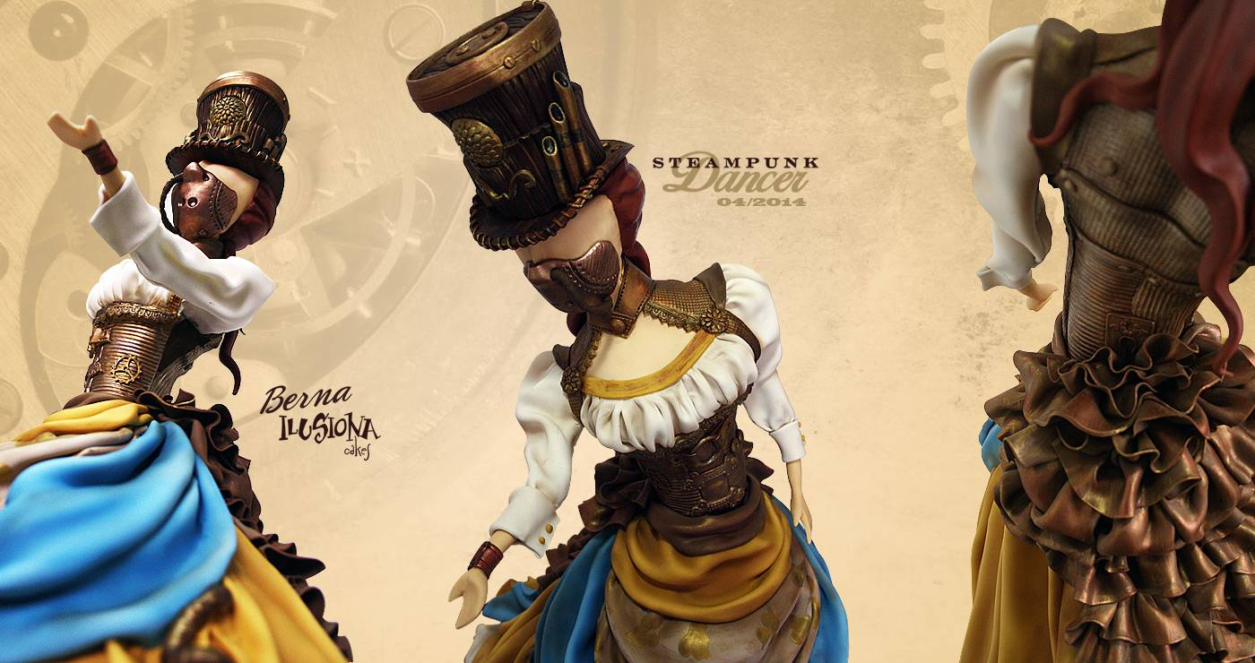 Steampunk Dancer -Expotarta 2014